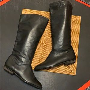 Norvelle Knee High Leather Boots
